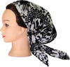 Delore Womens Dotted Floral Pre-Tied Bandana