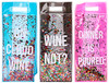 Eye Candy Confetti Wine Bag