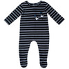 Noggi Boys Ribbed Smile Cotton Stretchie