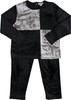 Kokao Boys Girls Unisex Velour Color Block Pajamas - PN08P
