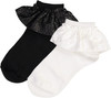 JRP Girls Leather Lace Ankle Sock - ALEA