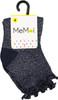 Memoi Girls Open Work Ankle Socks - MKF-6033