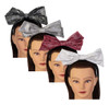 Riqki Girls Headband - HB1922 - Metallic Stamped Bow