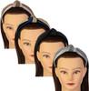 Riqki Girls Glitter Ribbon Turban Knot Headband - HB1928