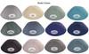 Yarmulka w/ Vinyl - Initial Cutout 3 Color Wavy Split Circle