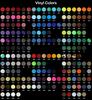 Yarmulka w/ Vinyl - Initial Multicolored