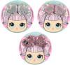 Magic Sequin Heart Hair Clip Set - APK1653