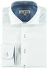 Akuto Boys Long Sleeve Dress Shirt with Blue Contrast