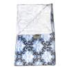 Damask Light Blue/Honey Comb Embossed Blanket-SB57