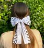 Girls Diamond Cutout Ribbon Clip