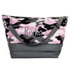 Purple Camo Puffer Weekender Bag 810-1068