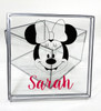 Girls Name With Minnie Mouse Clear Box