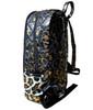 Bari Lynn Gold & Cream Cheetah Backpack - BLGCCB