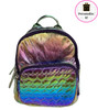 Bari Lynn MINI Iridescent Heart Backpack