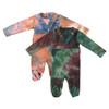 Baby Boys V-Neck Tie Dye Cotton Stretchy