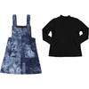 Girls Suede 2PC Outfit