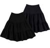 Women's Ponti 3-Tier 27 Inches Skirt