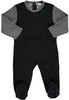 Boys Velvet With Ribbed Sleeves Stretchy
