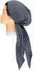 Riqki Soft Wide Ribbed Long Tails Pre-Tied Bandana - Y1245