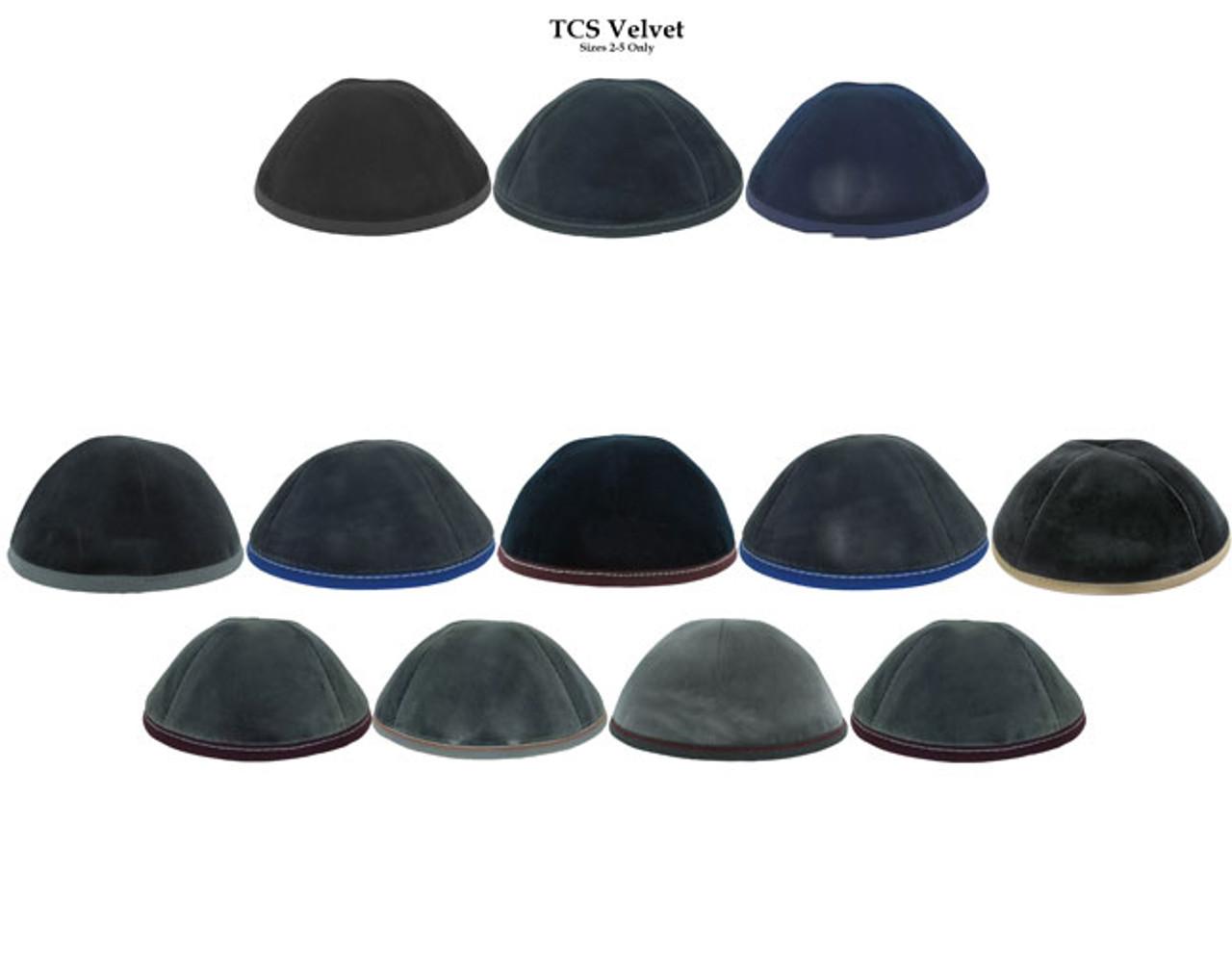 The Custom Shoppe Velvet Yarmulka