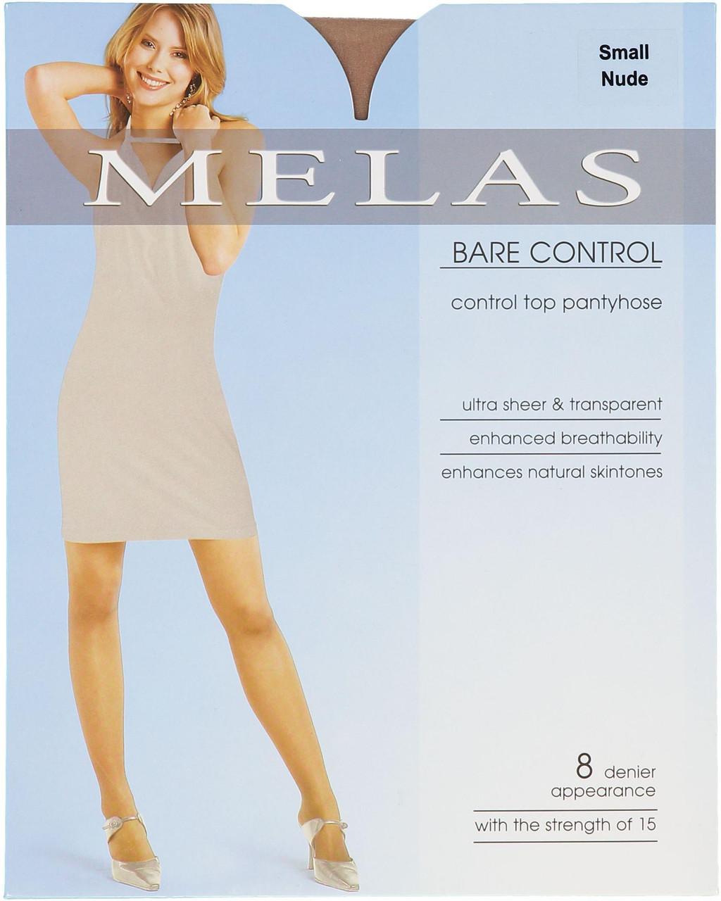 Melas Womens Bare Contol 8 Denier Pantyhose - AS-614