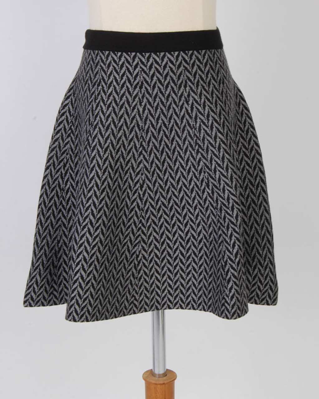 BGDK Chevron Knit Skirt