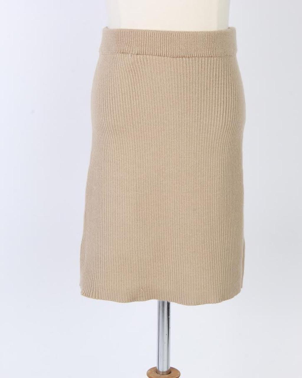 BGDK Sweater Knit Skirt