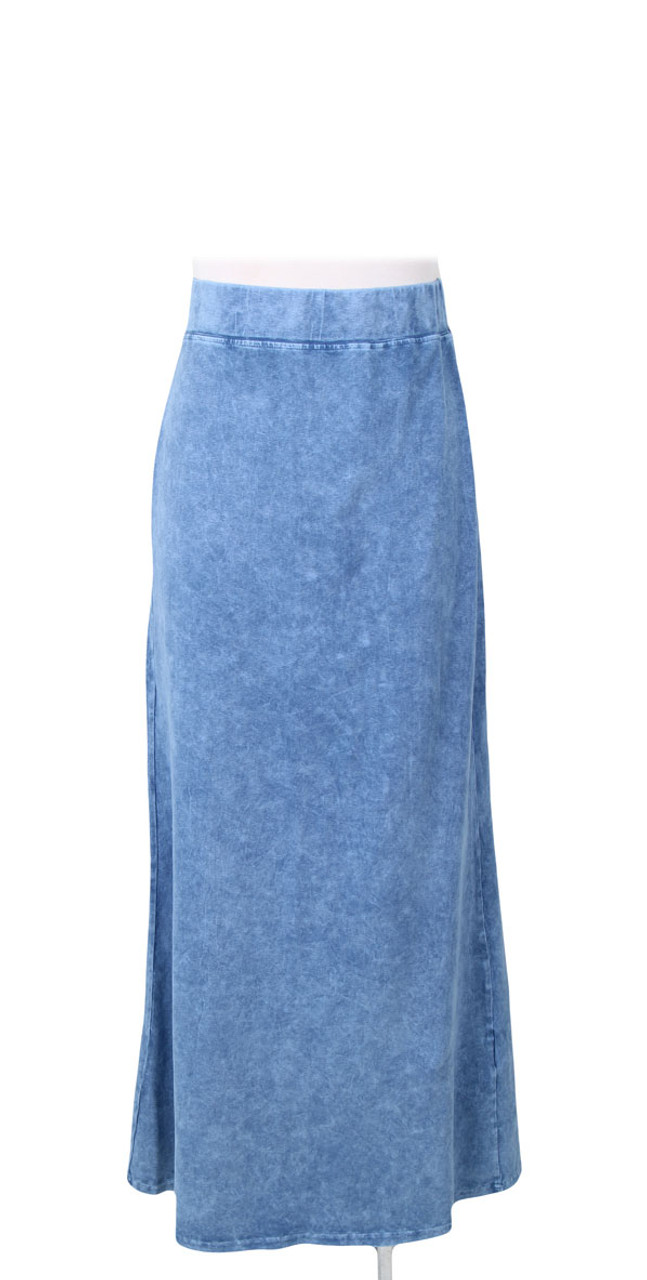 Kiki Riki Stone Wash Ladies Long Skirt