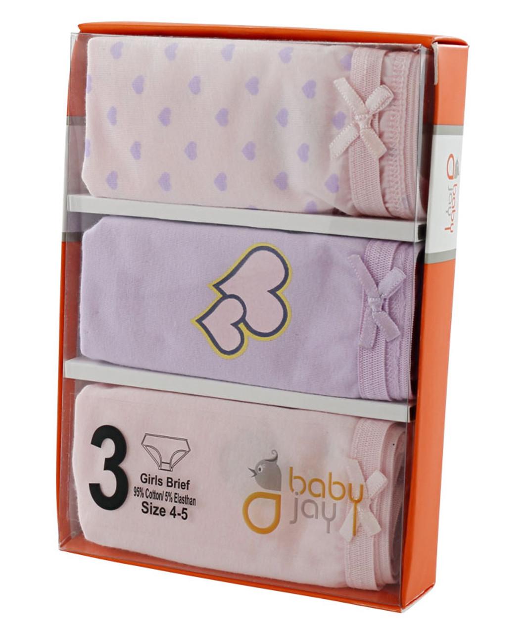 Girls 3Pack Underwear