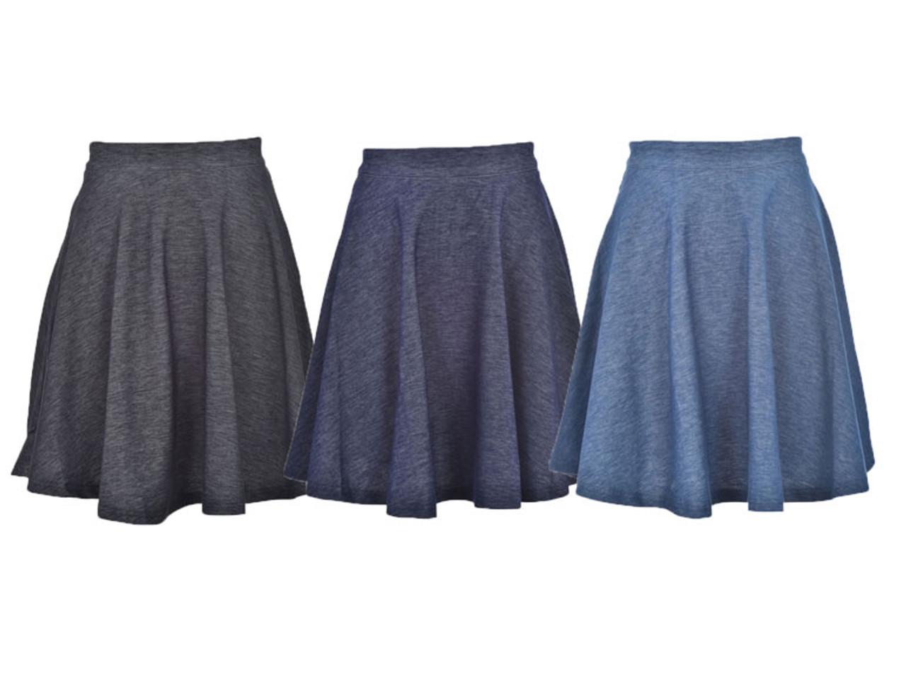BGDK Girls Circle Denim Skirt