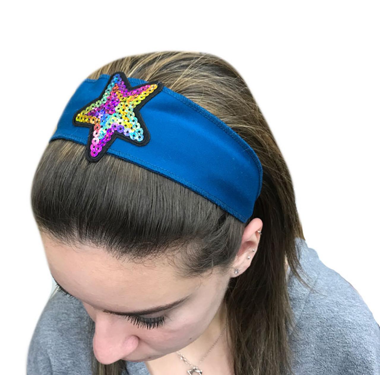 Rainbow Star Patch Headband