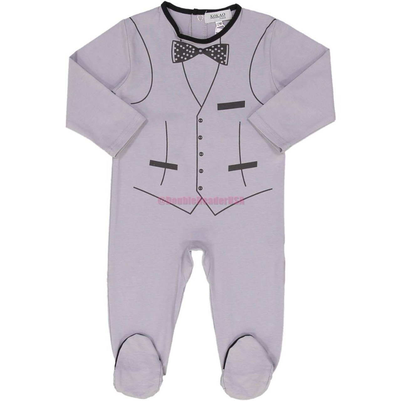 Kokao Baby Boys Cotton Stretchie - BS1908BB