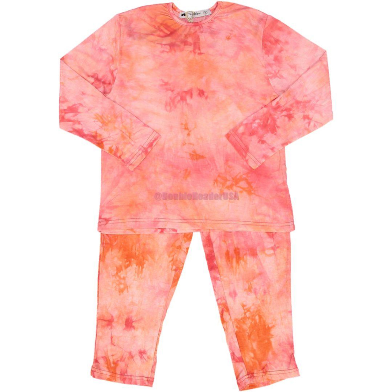 Teddy Bear Girls Cotton Pajamas - Pn11pg