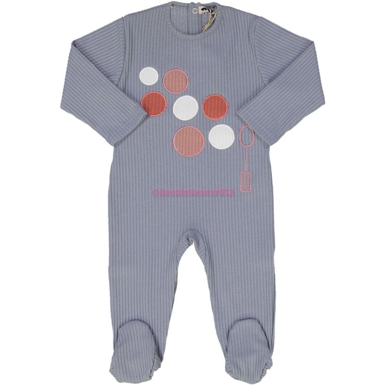 Teddy Bear Baby Boys Cotton Stretchie - R1BBB