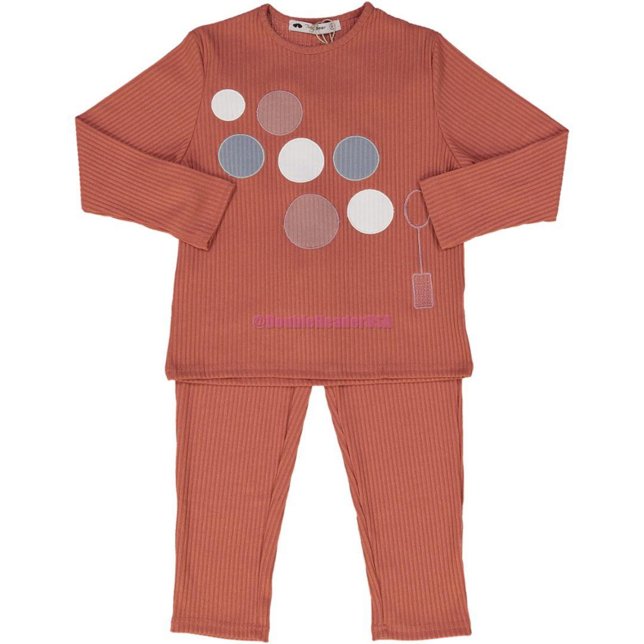 Teddy Bear Girls Cotton Pajamas - R1BPG