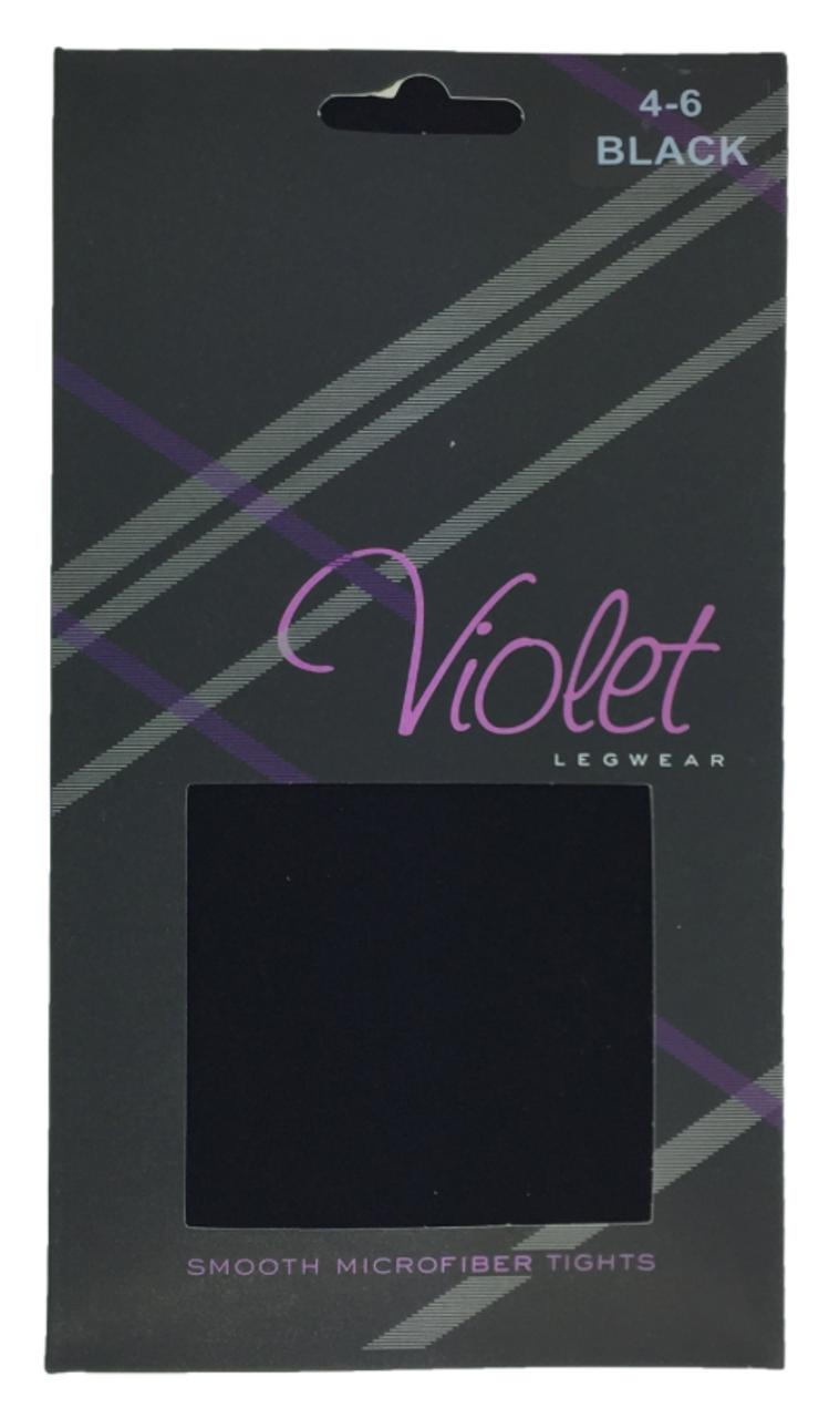 Violet Smooth Microfiber Tights