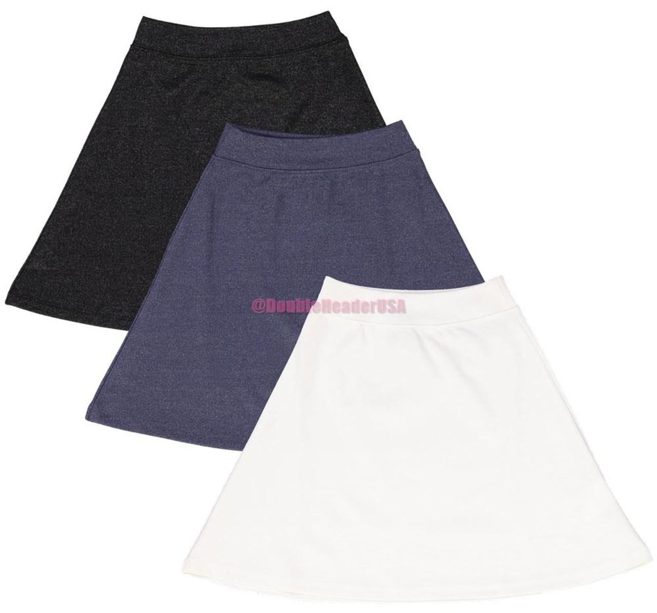 BGDK Girl's Shiny A-Line Skirt