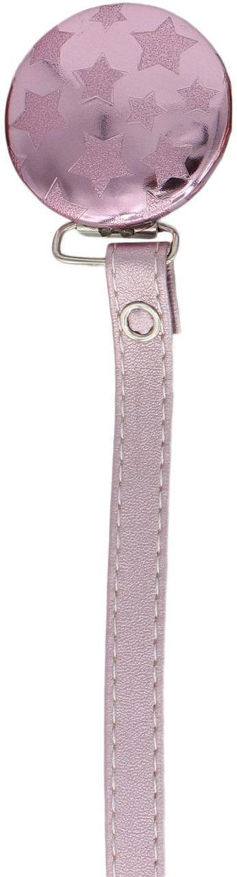 Crystal Dream Pacifier Clip - RL19-ST, Pink
