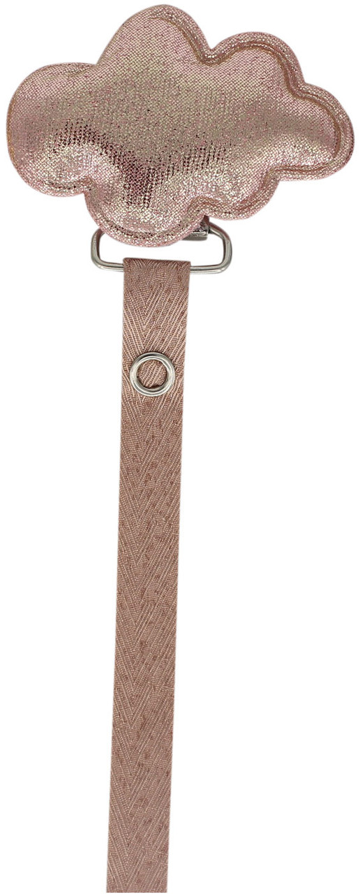 Crystal Dream Pacifier Clip - RMC19, Pink