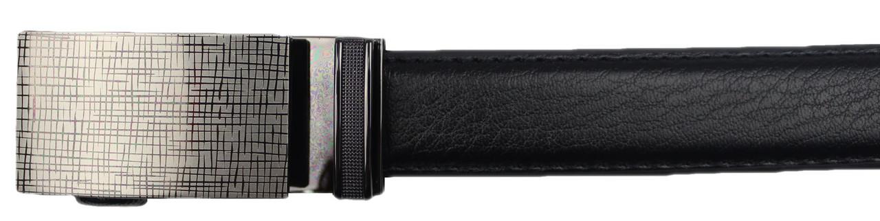 Marino Avenue Boys Black Leather Adjustable Track Belt
