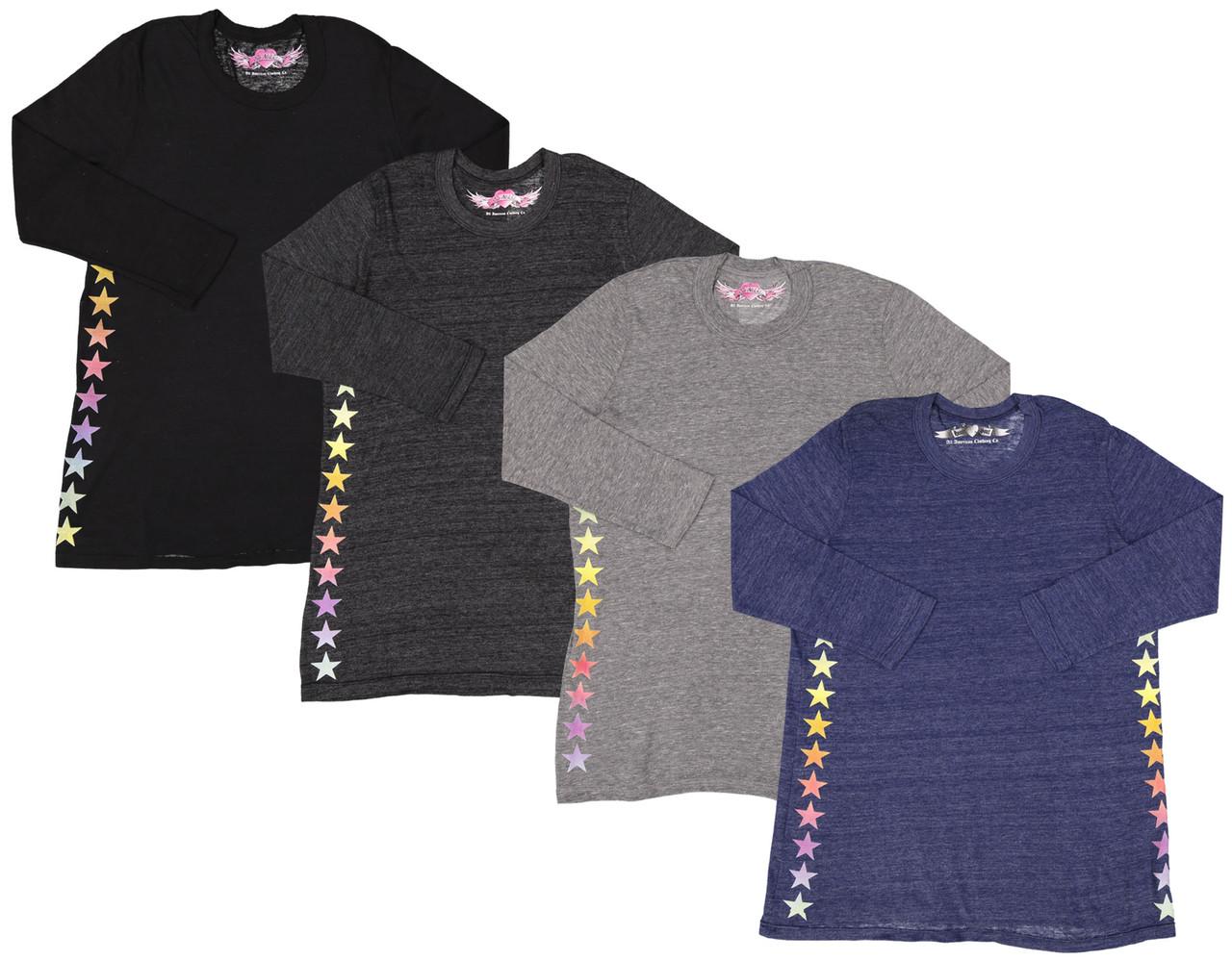 So Nikki Girls 3/4 Sleeve T-shirt - 1255K-P554A