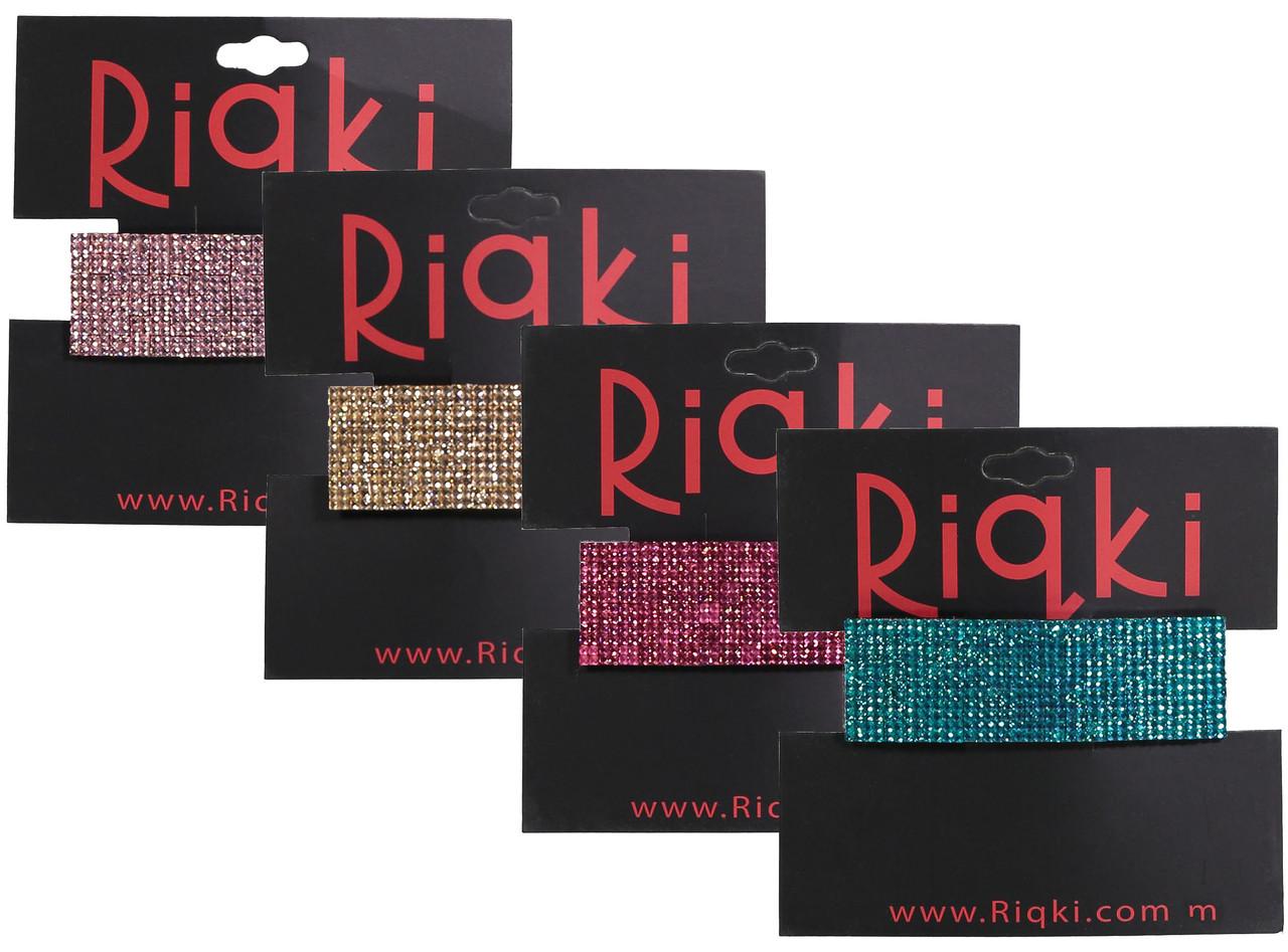 Riqki Jewel Rectangle Hair Clip