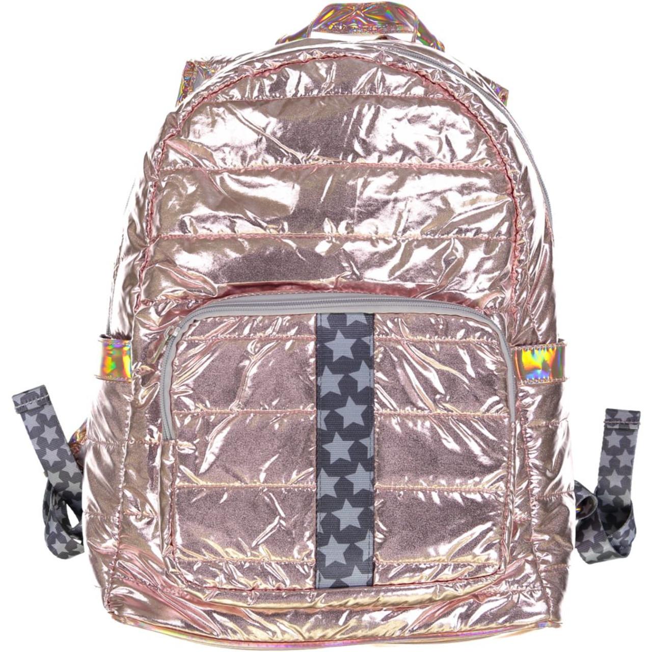 Top Trenz Gray Stars Backpack