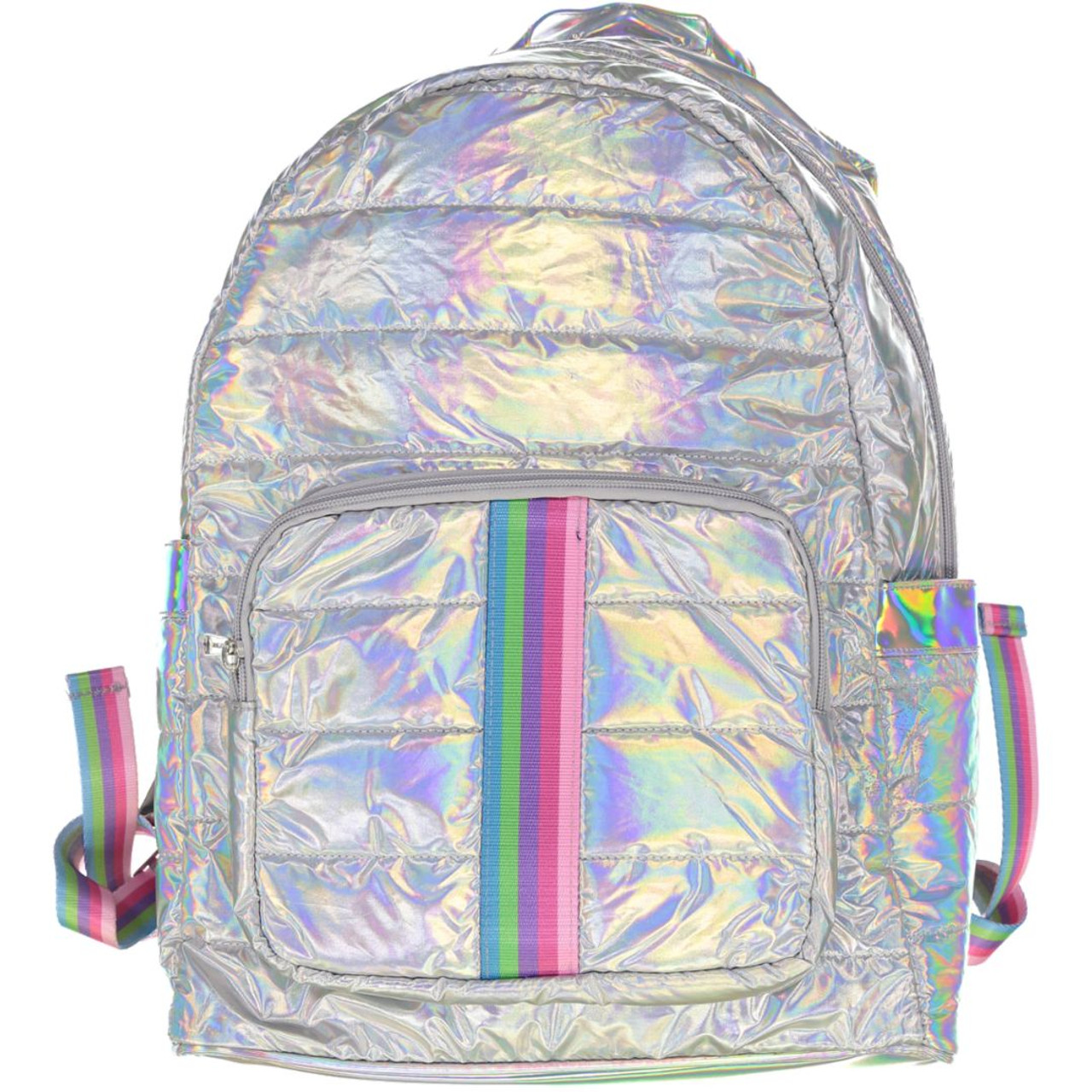Top Trenz Pastel Stripes Backpack