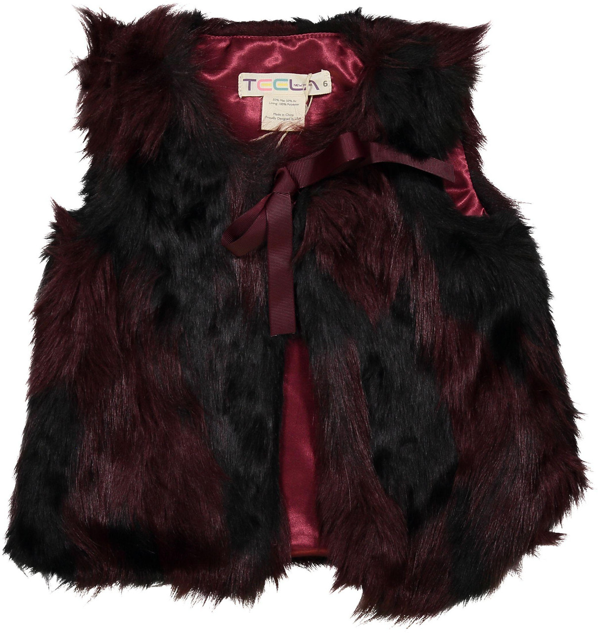 Teela Girls Fur Vest SB906
