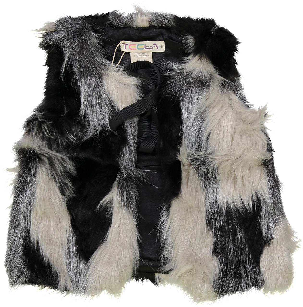 SB906 Teela Girls Fur Vest