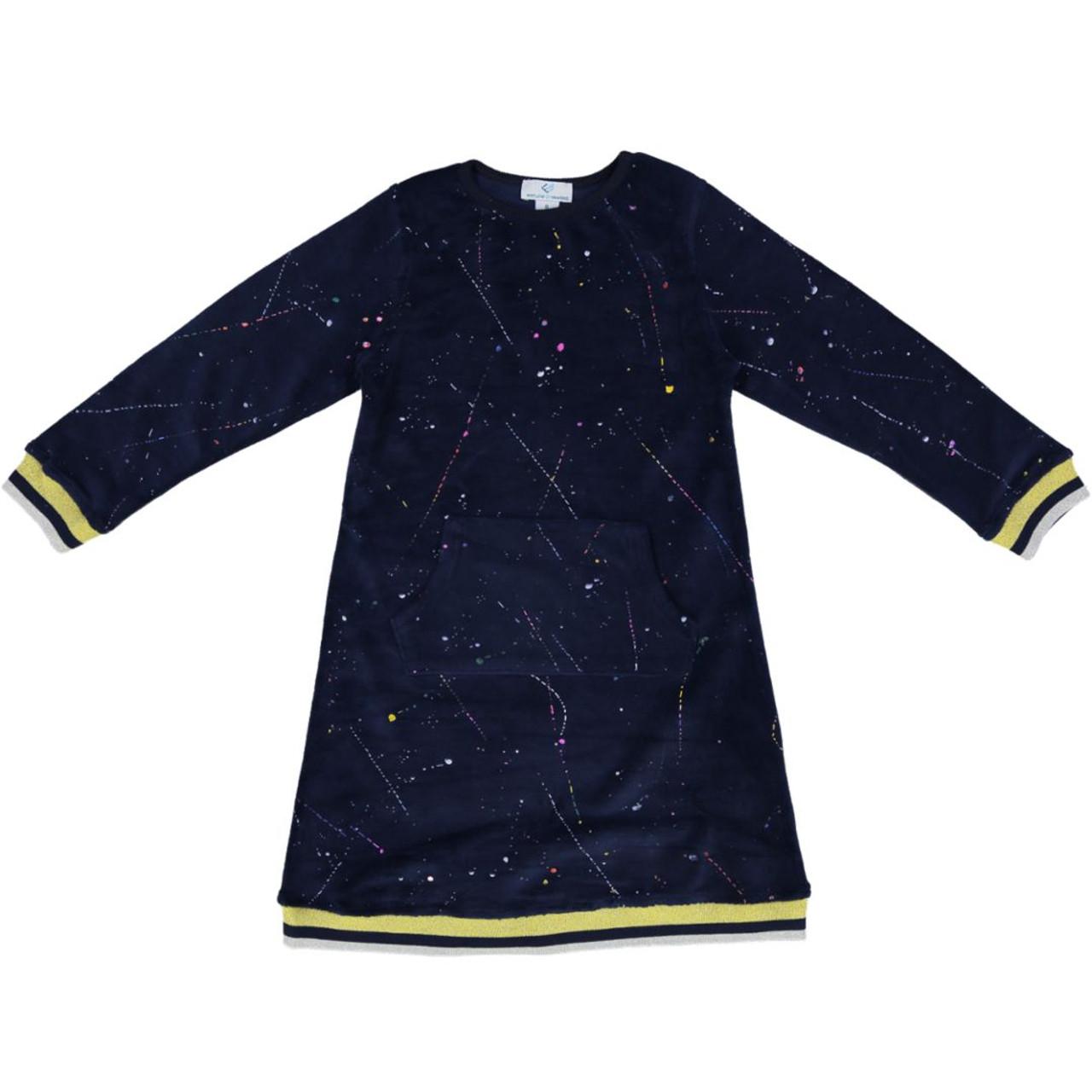 Whitlow & Hawkins Girls Splatter Dress - WHF191004