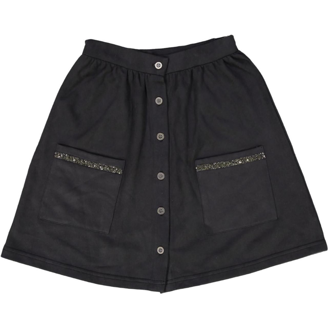 Whitlow & Hawkins Girls Suede Skirt - WHF192005