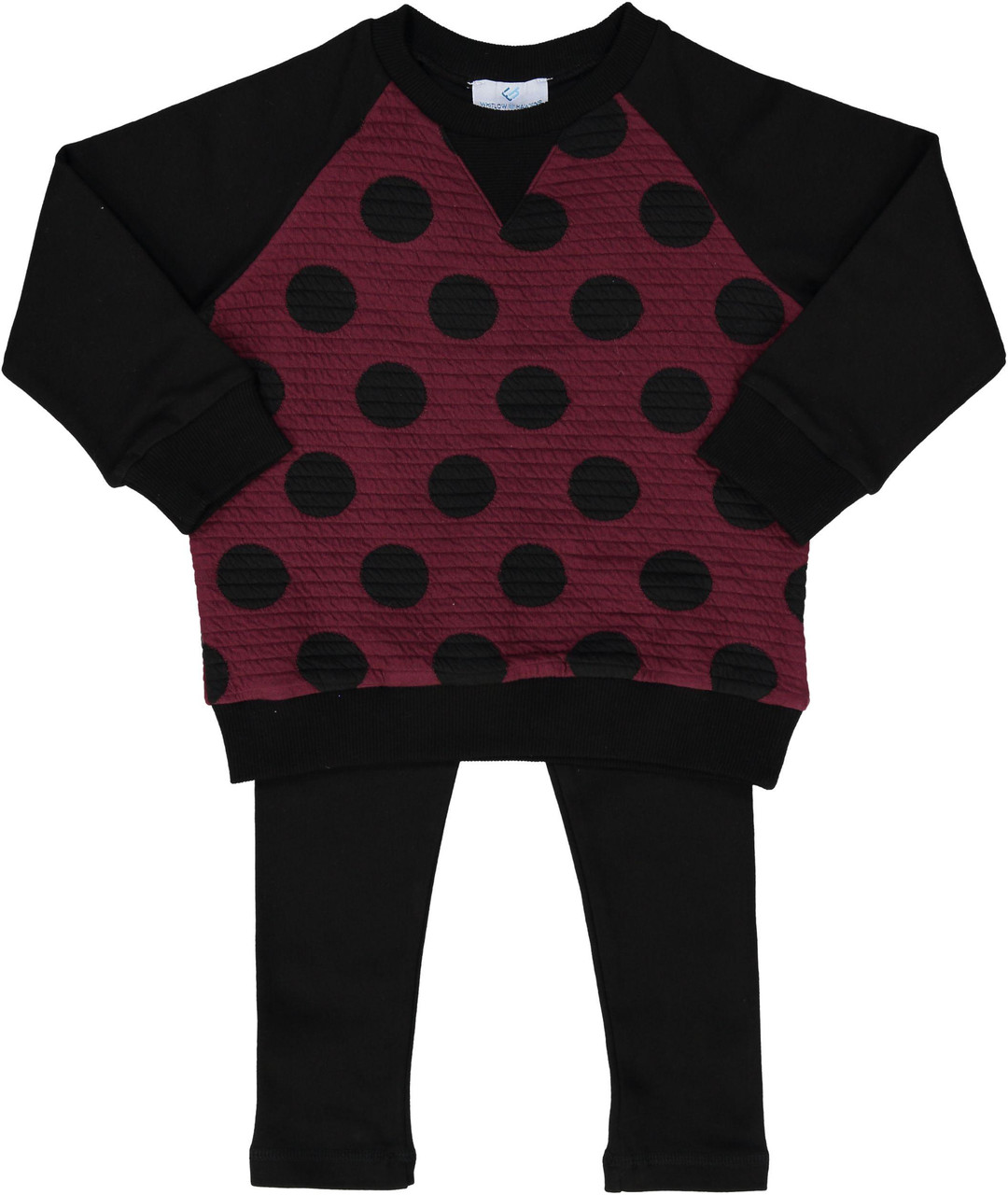 Whitlow & Hawkins Boys Girls Unisex Baby Dot Outfit - WHF198002