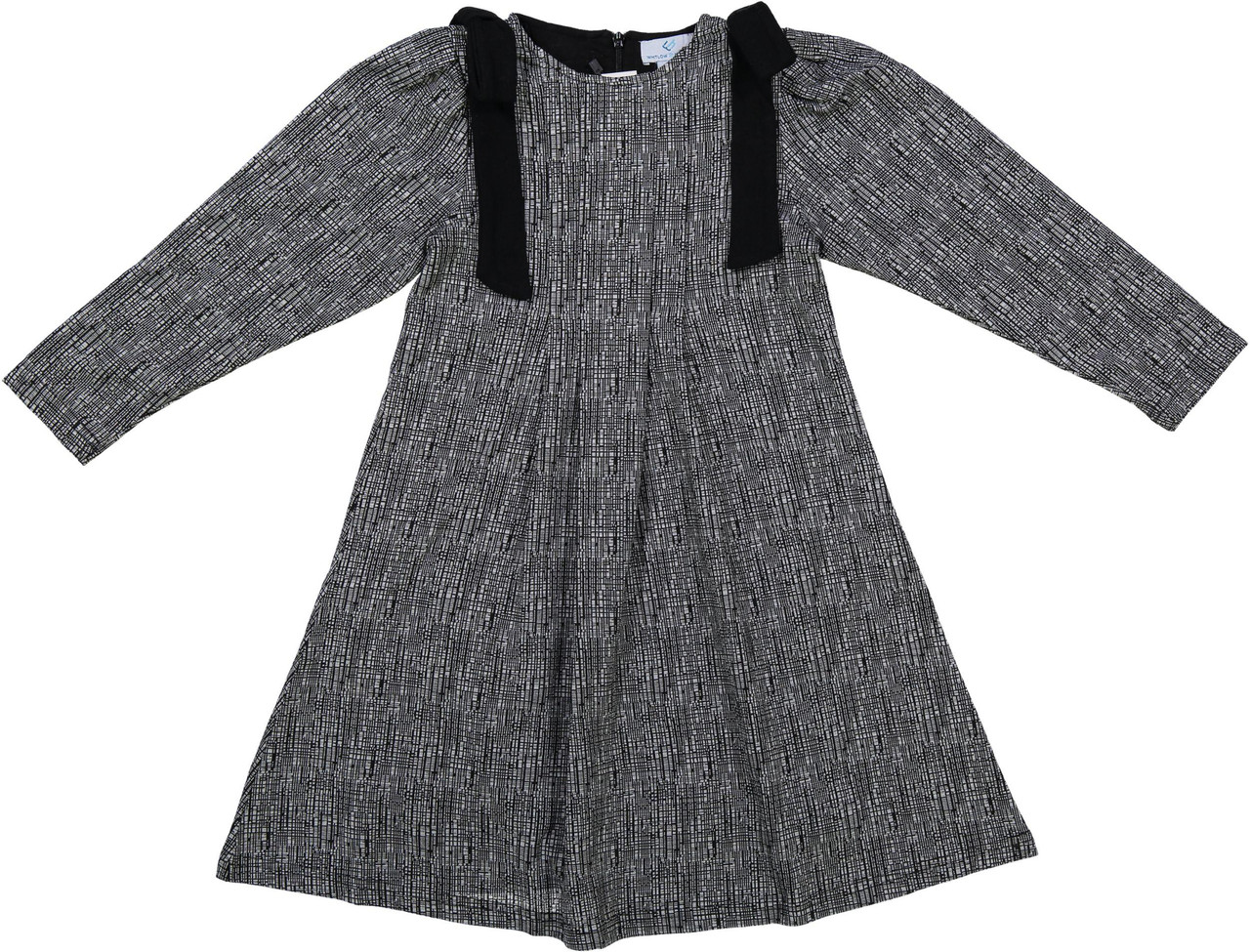Whitlow & Hawkins Girls Shoulder Bow Dress - WHF191023
